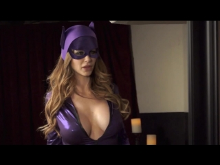 Christina Carter, Emily Addison [Catwoman vs Batgirl XXX porn parody]