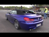 Manhart MH6 700 BMW M6 F13 Convertible - Accelerations! автомобиль, машина, тачка, суперкар, спорткар, БМВ, звук двигателя