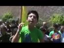 Hizbullah Şehidi Yas Merasimi Sırasında Yakılan Ağıt