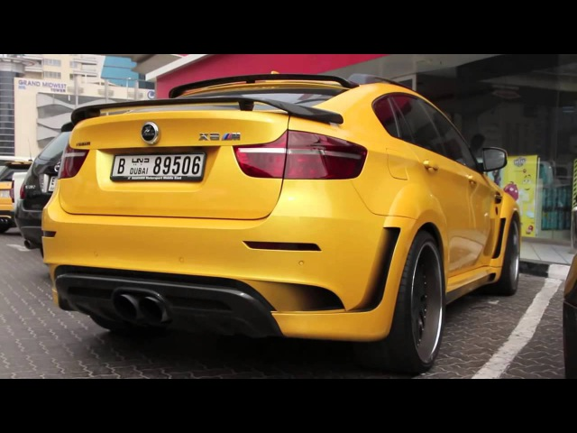 Тюнинг BMW X6 M Hamann