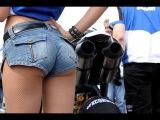 Девушки на мотоциклах Лучшие приколы юмор смех 2016