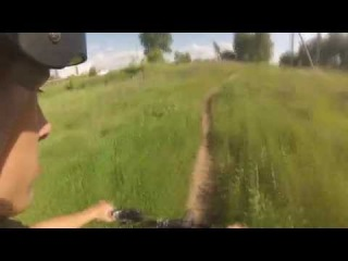 Покатушки на велосипеде/Biking with GoPro