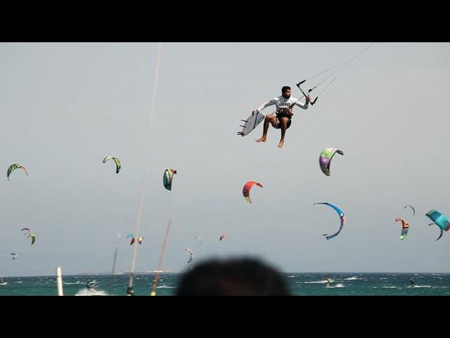 Paulino Pereira Tarifa Strapless Kitesurf Pro 2015 Ozone Catalyst