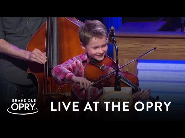 Carson Peters and Ricky Skaggs - Blue Moon of Kentucky   Live at the Grand Ole Opry   Opry