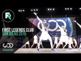 First Legends Club 3rd Place Upper Division FRONTROW World of Dance San Diego 2015 #WODSD15
