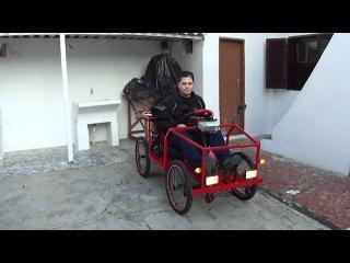 Carrinho completo com som e toda parte eletrica de carro 3
