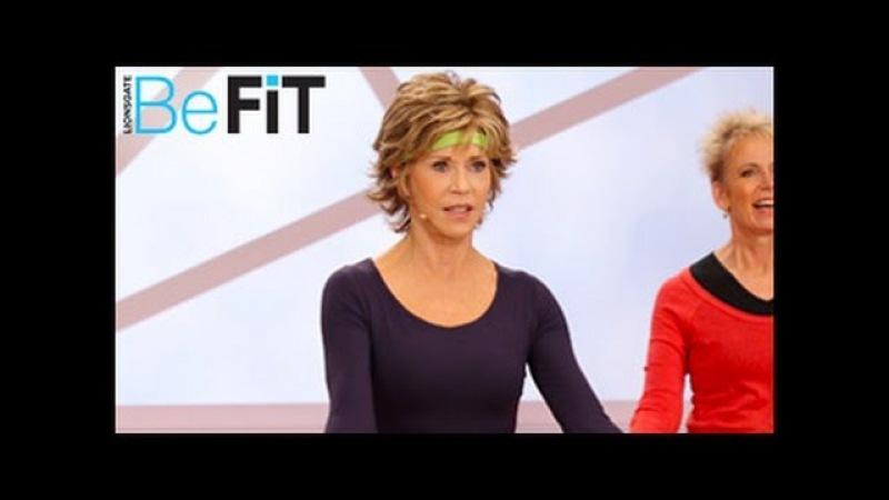 Jane Fonda: Lower Body Workout- Trim Tone and Flex