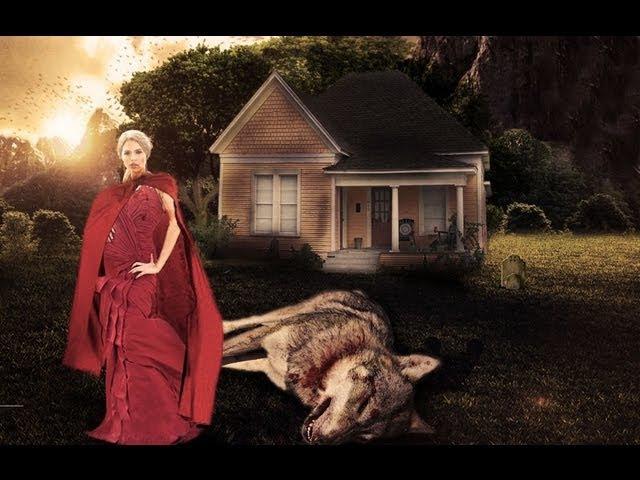 'Red Riding Hood: Revenge' | Photomanipulation | Speed Art]]j