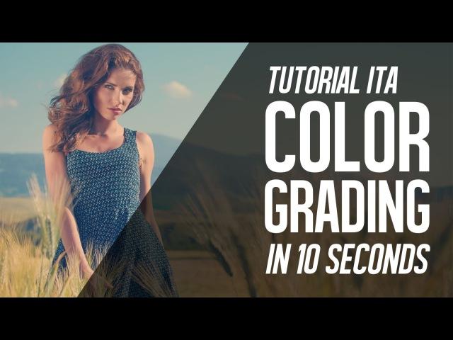 Come fare il Color Grade opaco e slavato con Photoshop tutorial