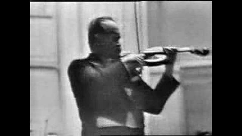 David Oistrakh - Sibelius Violin Concerto (3rd mvt.)