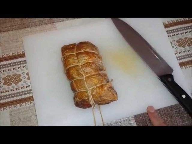 Сыровяленый балык . Часть 2