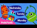 Seven Days Days of the Week Song Word Power PINKFONG Songs for Children