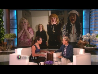 Lea Michele talks about Scream Queens and living in New Orleans on Ellen
