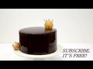 How To Make A Chocolate Mirror Glaze Cake