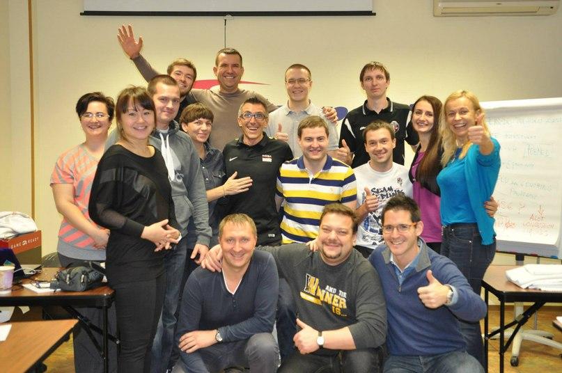 Слушатели семинара Винченцо Ланчини