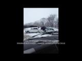 Массовое ДТП на трассе Армавир - Лабинск 02.12.2015