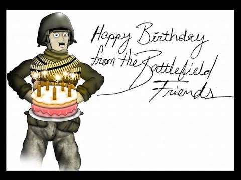 Поздравление с днём рождения бойцу