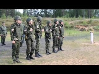Военные сборы факультета военного обучения  СПБГУ, Луга 2015