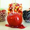 Яблоки в карамели рецепт в домашних условиях фото