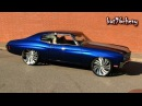 "ULTIMATE AUDIO: PROCHARGED Blue 70 Chevelle SS on 26""/24"" Forgiatos COMPLETED - 1080p HD"