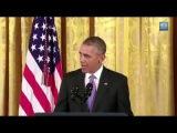 Obama sings