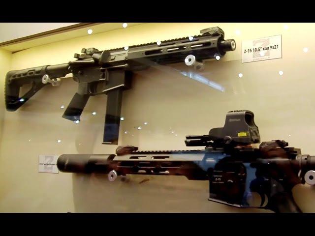 ZBROYAR RIFLES Стенд компании ЗБРОЯР Выставка Оружие и Безопасность 2015