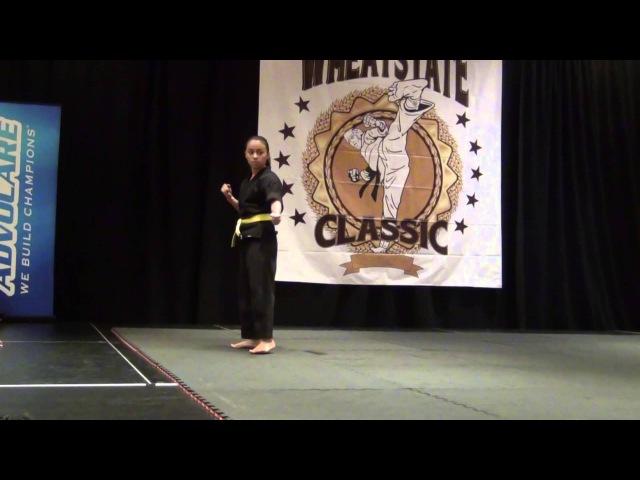 Maricela Ledesma Wichita Airstrike Martial Arts