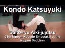 Daito ryu Aiki jujutsu Kondo Katsuyuki 38th Kobudo Embutakai at the Nippon Budokan