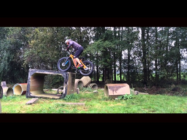 Mountainbike Freestyle by Rick Koekoek Fatbike MTB