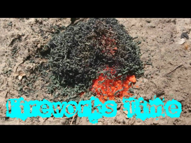 Вулкан - разложение дихромата аммония