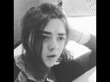 "@maisie_williams on Instagram: ""🔼🔼🔼"""