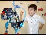ЛЕГО Биониклы LEGO BIONICLE Sets 70791 70792 Skull Warrior Review Unboxing SanSanychTV for kids
