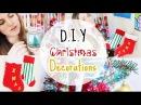 DIY Christmas Decorations Room Living Room Decor DIY Decorações de Natal