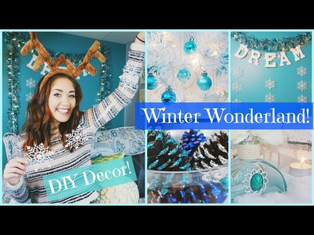 DIY Winter Wonderland Christmas Room Decor   Inexpensive, Easy, Pinterest Inspired!