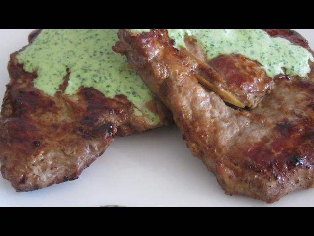 Свиной стейк рецепт вьетнамской кухни Thịt lợn Bít tết Sốt cải bó xôi Kamolino pork steak recipe