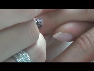Жидкие камни и литье на ногтях, броши на ногтях гель-лаками Kodi часть 1