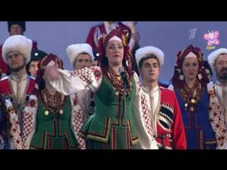 Прощание Славянки (Встань за веру Русская земля!) - Кубањски Козачки хор (Lyrics)