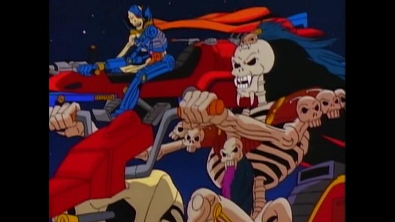 Воины-Скелеты 1 серия из 13 / Skeleton Warriors Episode 1 (1993 - 1994) Плоть и скелет