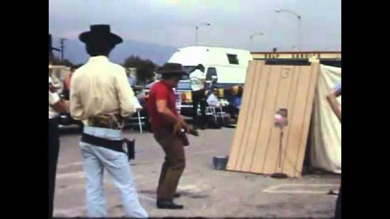 Vintage Fast Draw with Bob and Becky Munden Other Shooters (1970s)