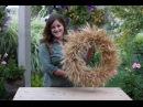 DIY $5 Fall Wheat Wreath