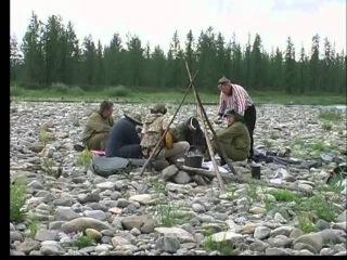 Приполярный Урал 2007 Пятиречье , Сплав по р. Танью и Войкар часть 1