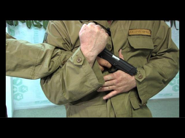 ШКОЛА ОБЕЗОРУЖИВАНИЯ (Обезоруживание при угрозе пистолетом урок - 16)