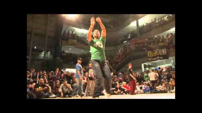 IBE 2009 Salah friends vs Bionic Celebration (Popping Battle) (Part 3/5)