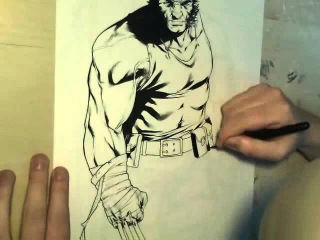 Mark Brooks Wolverine speed art