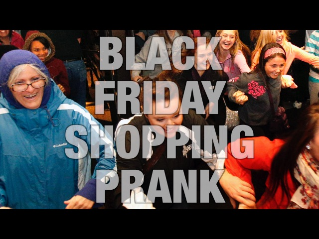 MediocreFilms - BLACK FRIDAY SHOPPING PRANK 2015! with Jacksfilms