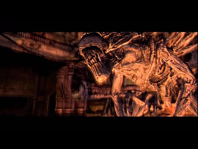 Прохождение Aliens vs Predator (живой коммент от alexander.plav) Ч. 4