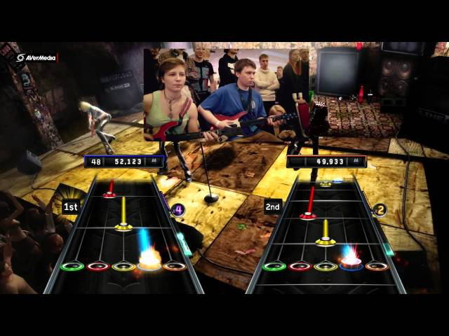 Guitar Hero Warriors of Rock на OGIC 4