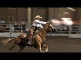 Cowboy Mounted Shooting Demo Iowa State Fair 2013