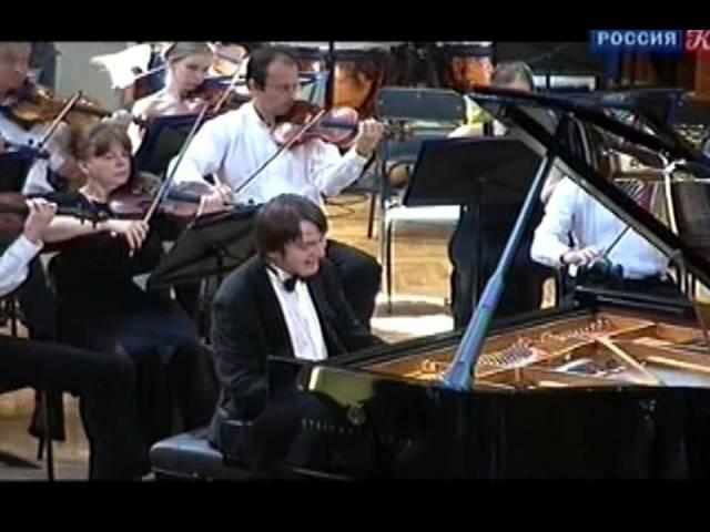 Даниил Трифонов (ф-но) на XIV-м КЧ - Ф. Шопен. Концерт №1 ми минор. БЗМК, 30.06.2011