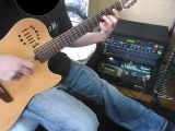 serial experiments lain Duvet on guitar